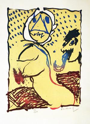 LA TAILLE DOUCE BY PIERRE ALECHINSKY
