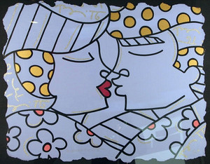 YOU ARE SO WONDERFUL (BLUE) BY ROMERO BRITTO