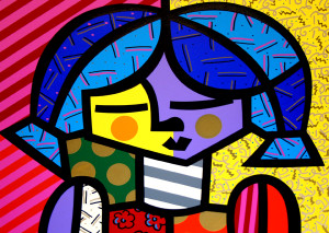 GIRLS SUITE: COUNTRY GIRL BY ROMERO BRITTO