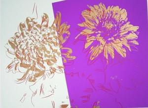 KIKU FLOWERS BY ANDY WARHOL