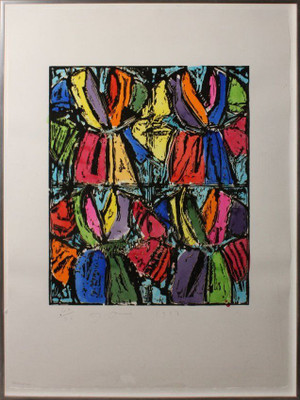 DEXTERS FOUR ROBES BY JIM DINE