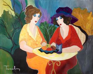 CHATTING LADIES BY ITZCHAK TARKAY