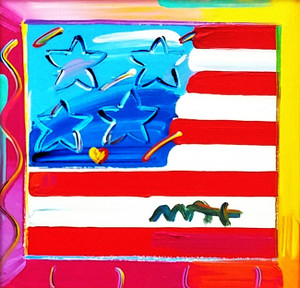 FLAG (ORIGINAL) BY PETER MAX