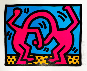 POP SHOP II (4) BY KEITH HARING
