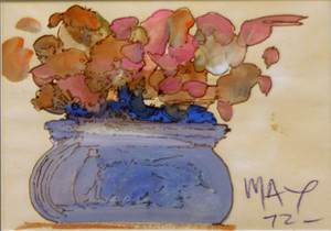 BOUQUET (1970'S) BY PETER MAX