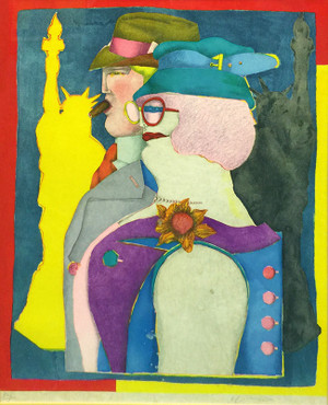 OUT OF TOWNERS BY RICHARD LINDNER