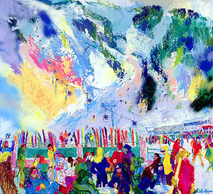 ASPEN MOUNTAIN RENDEZVOUS BY LEROY NEIMAN