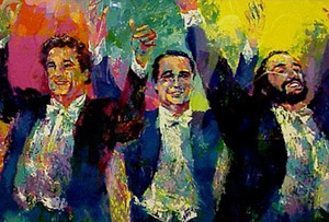 THE THREE TENORS BY LEROY NEIMAN