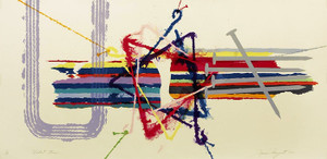 VIOLENT TURN BY JAMES ROSENQUIST