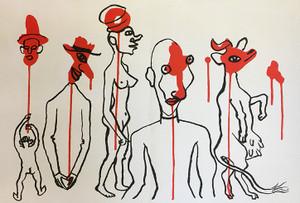 DERRIERE LE MIROIR CIRCUS 4 BY ALEXANDER CALDER