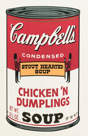 CAMPBELL'S SOUP II: CHICKEN 'N DUMPLING'S FS II.58 BY ANDY WARHOL