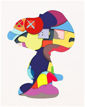NO ONE'S HOME BY KAWS