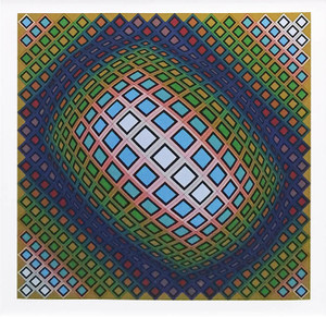 COMPOSITION BY VICTOR VASARELY