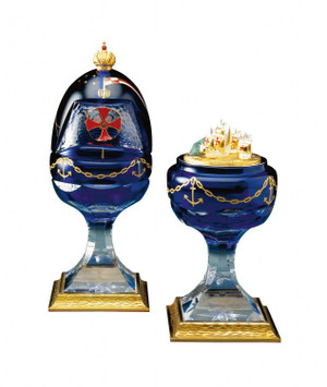 COLUMBUS EGG BY FABERGE