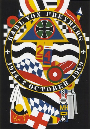THE HARTLEY ELEGIES - KvF I BY ROBERT INDIANA