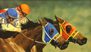 RACING HORSES BY RON BALABAN