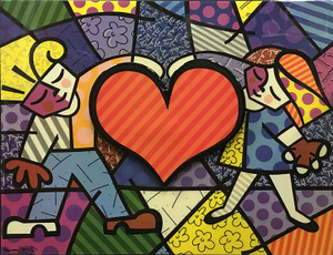 BIG HEART BY ROMERO BRITTO