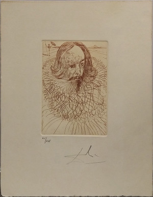 CERVANTES BY SALVADOR DALI