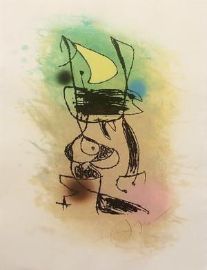 LE GRILLON SOUS LA LUNE BY JOAN MIRO
