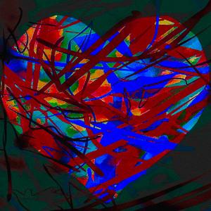 HEART SERIES 3 BY ROSARIO VIGORITO