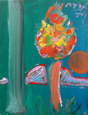 TREE (1970'S) BY PETER MAX