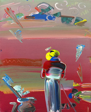 SAGE (1980'S) BY PETER MAX