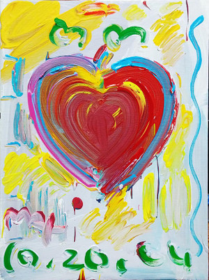 HEART IV BY PETER MAX