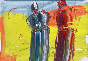 SAGE (1989) BY PETER MAX