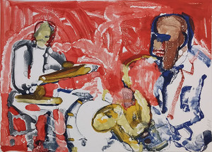 OUT CHORUS, RHYTHM SECTION BY ROMARE BEARDEN