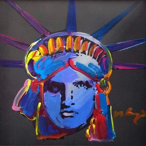 LIBERTY HEAD X (TODAY) BY PETER MAX