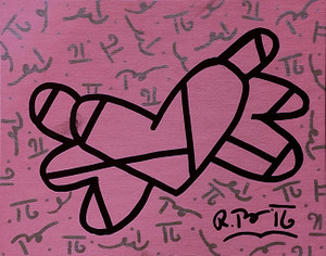 UNTITLED (HEART) BY ROMERO BRITTO