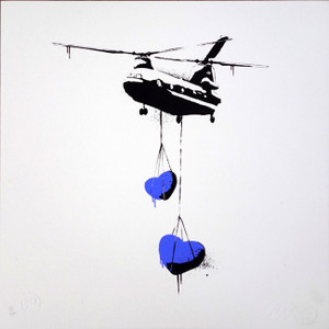CHINOOK HEART (BLUE) BY MARTIN WHATSON