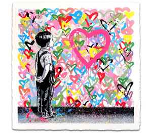 WITH ALL MY LOVE BY MR. BRAINWASH