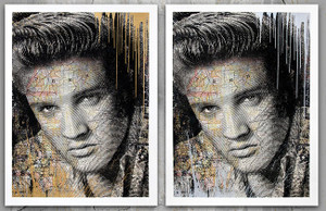 KING OF ROCK (ELVIS PRESLEY) BY MR. BRAINWASH