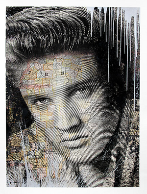 KING OF ROCK (ELVIS PRESLEY) SILVER BY MR. BRAINWASH