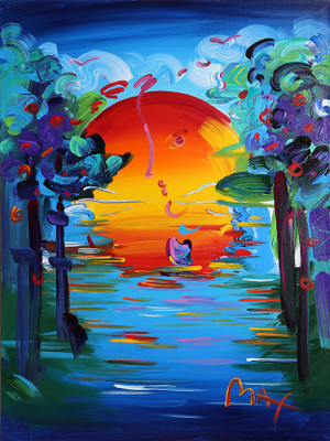 BETTER WORLD VERSION VII BY PETER MAX
