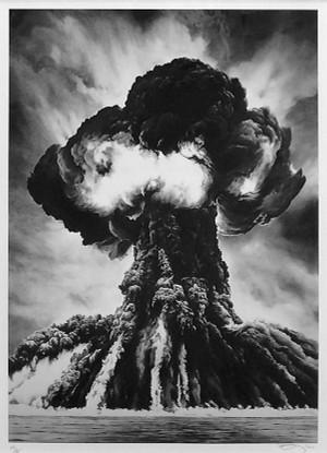 RUSSIAN BOMB (SEMIPALATINST) BY ROBERT LONGO
