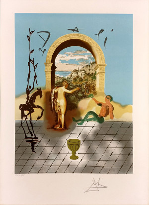 GATEWAY TO THE NEW WORLD BY SALVADOR DALI