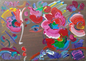 PROFILE (BROWN) BY PETER MAX
