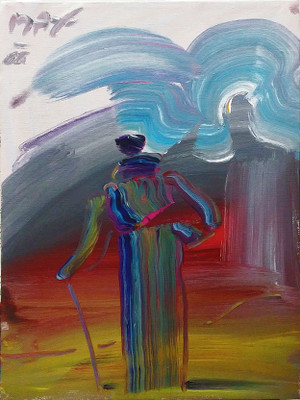 SAGE (DUSK) BY PETER MAX