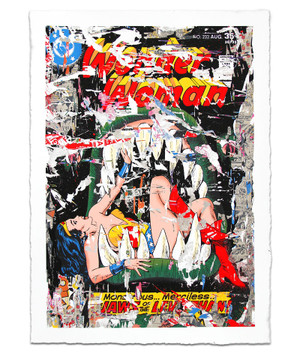 WONDER WOMAN BY MR. BRAINWASH
