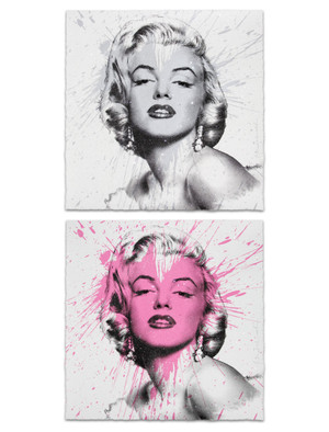 MY HEART IS YOURS (MARILYN MONROE) BY MR. BRAINWASH