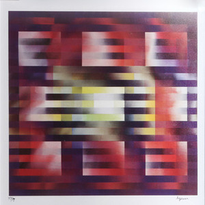 UNTITLED VIII BY YAACOV AGAM