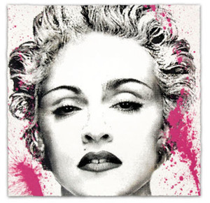 HAPPY B-DAY MADONNA (PINK) BY MR. BRAINWASH