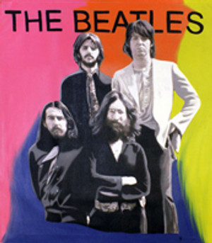 THE BEATLES BY STEVE KAUFMAN