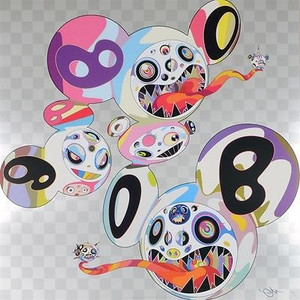 THIS WORLD AND THE WORLD BEYOND  BY TAKASHI MURAKAMI