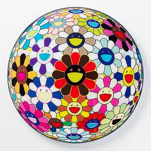 FLOWERBALL MULTICOLOR BY TAKASHI MURAKAMI