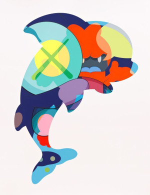 PIRANHAS WHEN YOU'RE SLEEPING BY KAWS