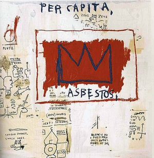 PER CAPITA, 1982 BY JEAN-MICHEL BASQUIAT