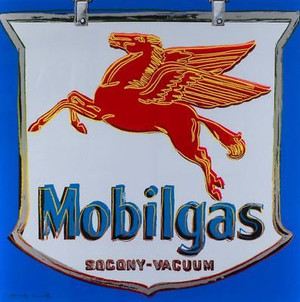 ADS: MOBILGAS FS II.350 BY ANDY WARHOL